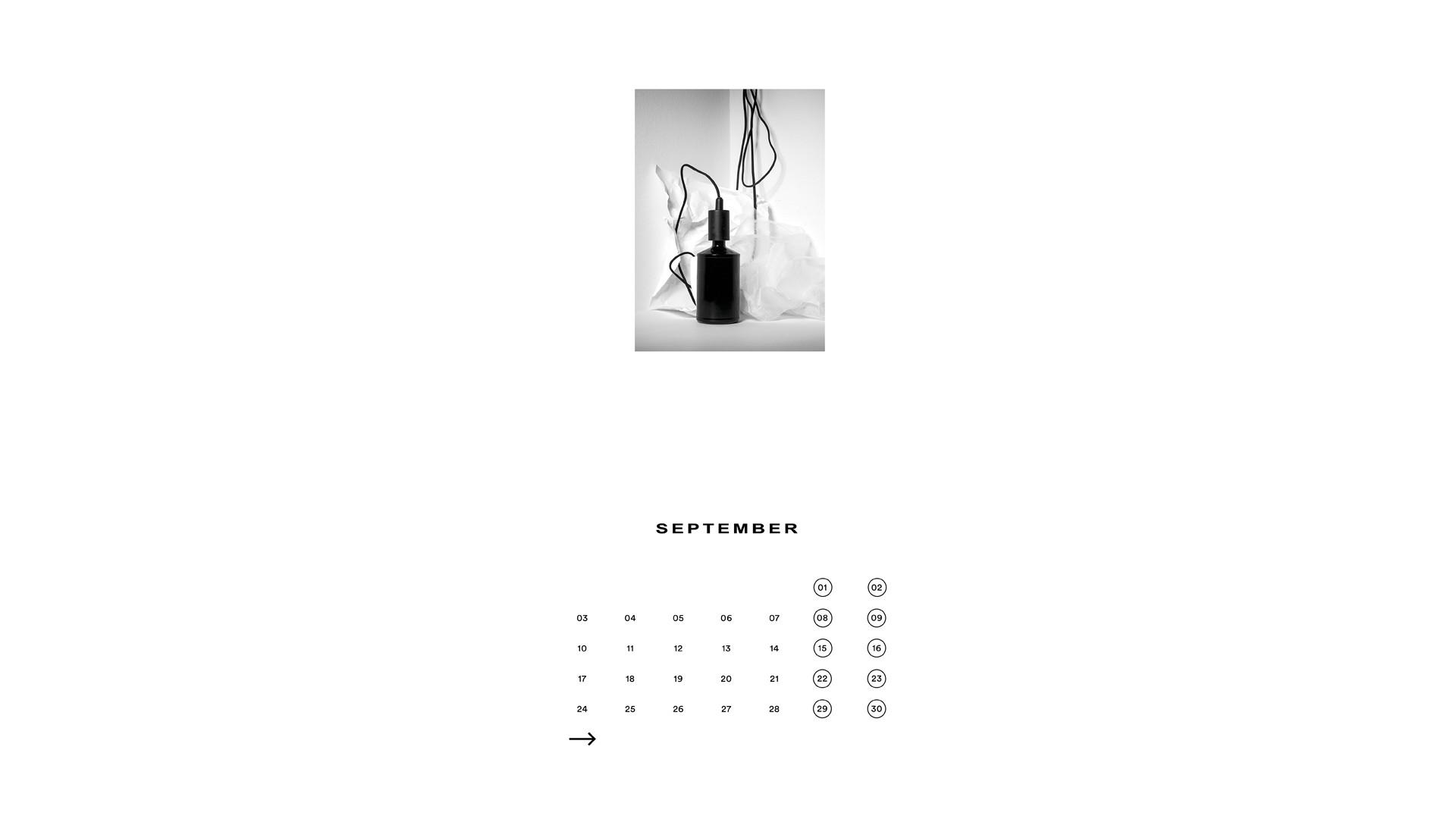 Julian Behrenbeck Calendar 2018